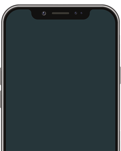 Mobile Device with blank screen